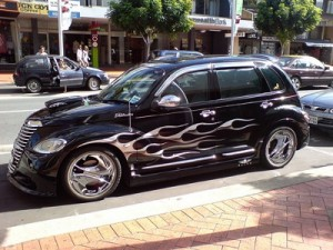 Chrysler PT Cruiser Chrome Rims