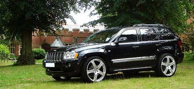 Black Jeep Cherokee With Black Rims Jeep Grand Cherokee Rims